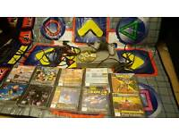 PS1 BUNDLE... WITH DANCE MAT, 1 PAD AND 10 GAMES