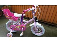 "Beautiful girls 12"" cupcake bike"