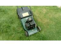 Hayter hobby 41 petrol mower with roller