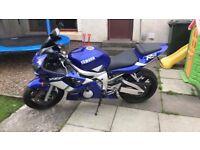 2000 Yamaha R6 13,800 miles totally original mint bike 10 months MOT