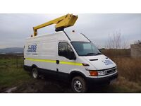 2004 / 54 REG IVECO DAILY LWB 2.8 CHERRY PICKER