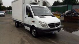 Mercedes Sprinter Chassis Cab Fridge Box Automatic