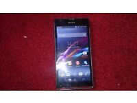 """SONY XPERIA SP MOBILE PHONE SMART/WIFI/BLUETOOTH/APPS/4.6"""" SCREEN/TOUCHSCREEN/8MP CAMERA NO OFFERS"""