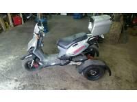P go trappy 50cc scooter