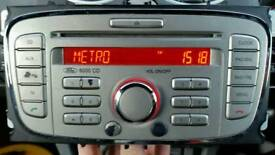FORD FOCUS CMAX MONDEO 6000CD STEREO WITH SECURITY CODE