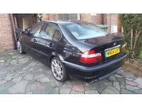 2004 (04) BMW 320 M sport saloon for swap