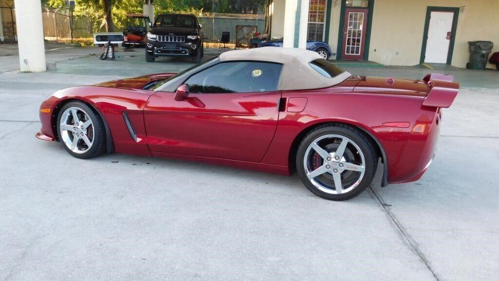 2005 Red Chevrolet Corvette   | C6 Corvette Photo 7