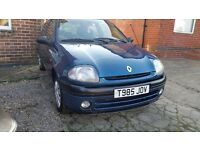 Renault clio rn 1.2 1999 t reg nice clean car