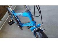 Vintage Raleigh Grifter 1980's Blue Retro Classic Bike