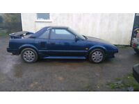 1987 mk1 Toyota MR2. 127,000 miles. HPI clear. Please read!