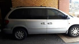 2002 chrysler voyager low milage great condition with mot