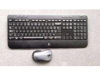 Logitech MK520 Wireless Combo Keyboard and Mouse (UK English)