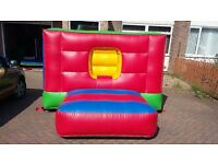 COMMERCIAL BOUNCY BOX CASTLE 8ft wide x 11ft long x 6ft high, ballpool castle