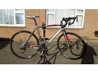 Boardman CX cyclo cross bike 58cm with optional extras