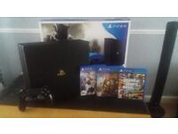 PS4 PRO 1TB WITH 3 GAMES EXELLENT CONDITION WITH BOX !