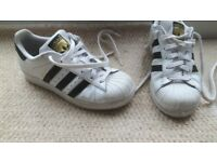Adidas SUPERSTAR trainers Size 3