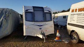 bailey 2014 6 berth caravan twin axle