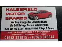 we want your scrap cars 4x4s and vans