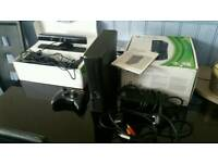Xbox 360 slim bundle, kinect, games