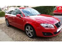 2010 Red Seat Exeo ST Sport Estate - Like an Audi A4 Sportline