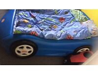 Car bed frame kids!!! Little tikes