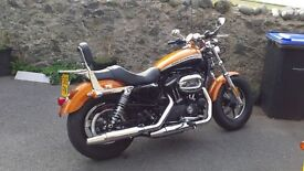 Harley Davidson 1200 Custom LTD XL almost new