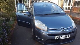 citroen c4 grand picasso, 2.0 hdi auto,7 seater first owner, only 95000mil private number