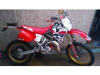HONDA CR 125 ROAD LEGAL.