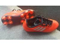 Adidas Football / Rugby Boots Childs Size 2.