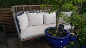 Garden settee ,Conran Windsor garden sofa