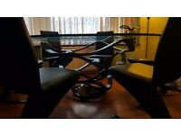 Reflex Neolitico Oval Dining Table (180cm) including Chairs