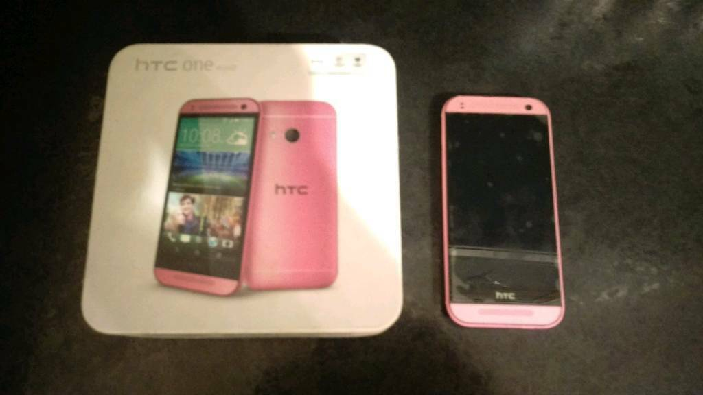 HTC One Mini 2 Pinkin Leigh, ManchesterGumtree - its unlocked to all networks,Ive done a factory reset,pics show what it was like,will throw case in,it has no charger,being used on her new phone,selling as her contract has ended and shes upgraded,screen is perfect,no marks,the protector has never...