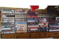 assortment of dvd films