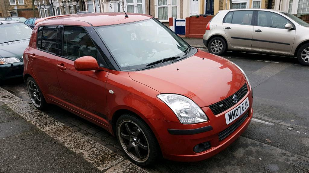 suzuki swift 2007 bluetooth leather seats a c in stratford london gumtree. Black Bedroom Furniture Sets. Home Design Ideas