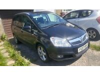 2007 VAUXHALL ZAFIRA 1.9 CDTI DIESEL, NEEDS HEAD GASKET AND RAD, EASY FIX, PRICE TO SELL
