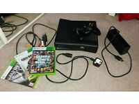 Xbox 360 plus games, 250GB