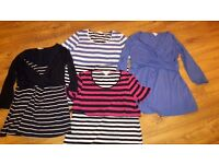 4 nursing tops from Mamas and Papas, size 16