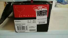Vans boxed never worn unisex uk size 8 as new