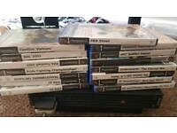 ps2 console 15 games 1 pad bundle