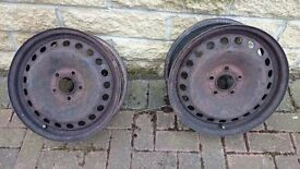 "Ford Focus (MK2) / Mondeo Full Size Spare 16"" Steel Wheel - For winter tyres ?"