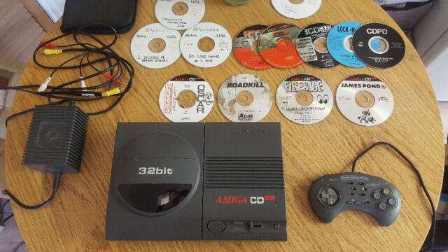 Commodore Amiga Cd32 Loads Of Games Excellent Condition Rare In Beccles Suffolk Gumtree