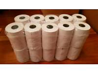 20 rolls of 57mm x 40mm Thermal card machine Paper Rolls - new