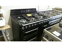 Smeg 90cm dual fuel range cooker used twice !!