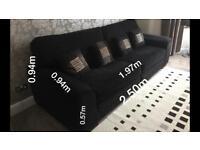 Sofa Navy dark seats