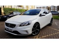Volvo V40 2.0 TD D4 R-Design Lux Nav Geartronic (s/s) 5dr AA APPROVED AND WARRANTY