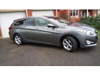 Hyundai i40 Style Estate Tourer Blue Drive, Titanium Grey, £30 Tax, Camera, Sensors, Cruise Control
