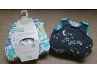 Two Baby Sleeping Bags (Robots) 6-18 months