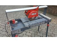 Professional tile saw - Rubi 200 LP was £700 new