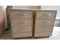 2 x Desk drawers