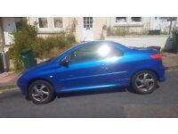 Peugeot 206cc Blue